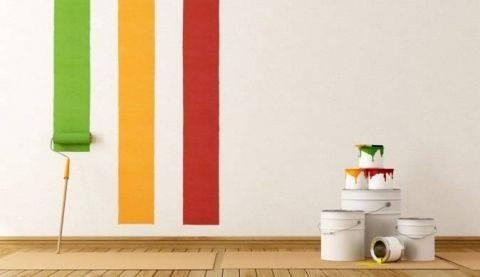 Интересная покраска стен в квартире: 3 способа для ленивых