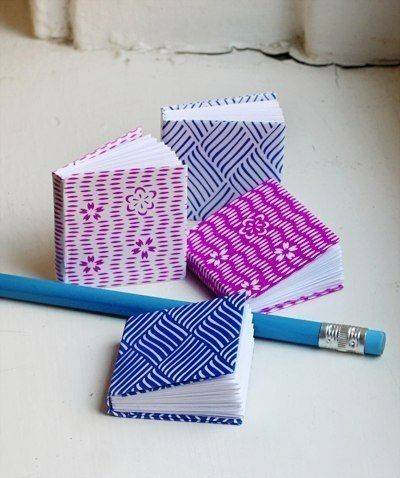 Веселый лайфхак: как сделать мини блокнот своими руками