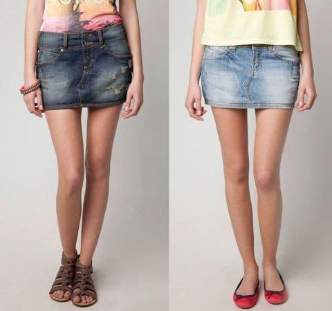 Лайфхак: как сшить юбку из джинсов и стать самой модной