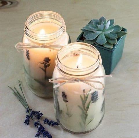 Ароматизированные свечи из воска своими руками