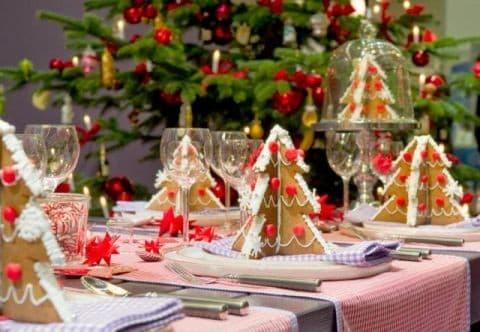 Сладкие идеи для новогоднего стола