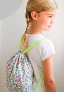 Легкий детский рюкзак своими руками