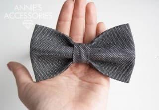 Лайфхак: как сшить галстук бабочку для выпускного