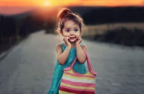 Модная и крутая сумка для девочки