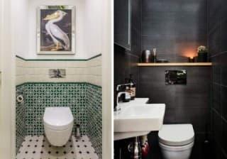 Красивый дизайн туалета в квартире