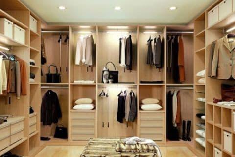 Как сделать гардеробную в комнате: грамотная планировка для удобства