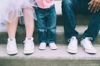 Самодельная обувь для малышей до года для фотоссесии