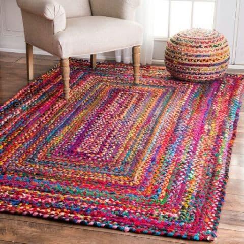 Красивые самодельные украшения для дома своими руками: этнический коврик
