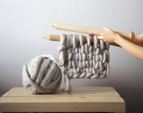 Гигантское вязание Анны Мо