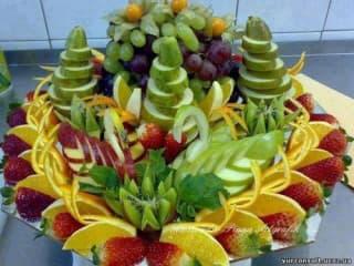 Как красиво подать фрукты на стол
