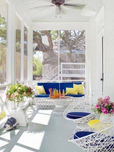 Дизайн веранды загородного дома