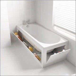 Оригинальные идеи для хранения в ванной. Делаем?!