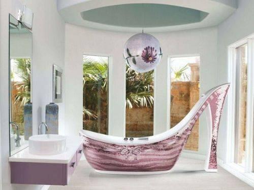 Самые необычные ванны