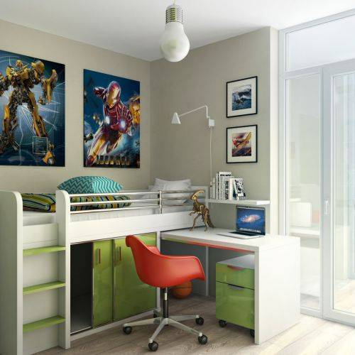 b2ap3_thumbnail_Breathtaking-Kids-Space-Saver-Beds-Ideas-in-Kids-Contemporary-design-ideas-with-boys-bedroom-desk-desk-chair-lime-green.jpg