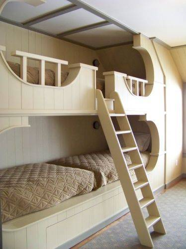 b2ap3_thumbnail_Stupefying-Kids-House-Beds-Ideas-in-Bedroom-Rustic-design-ideas-with-area-rug-built-in-bunk-beds-butter.jpg