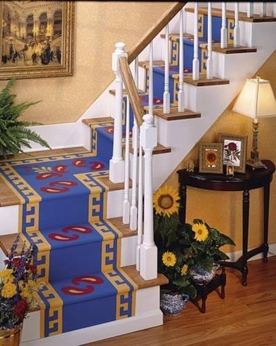 Шикарная лестница в восточном стиле может стать реальностью