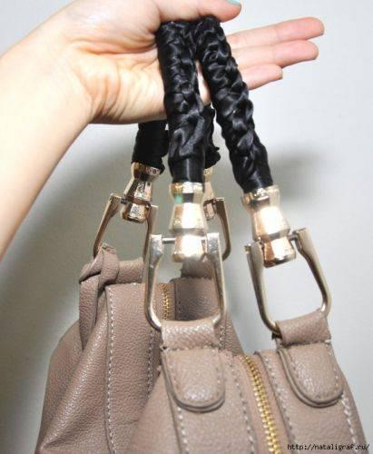 Очень интересная идея обновления старой сумки