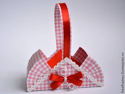 Корзиночка для подарка сама как подарок
