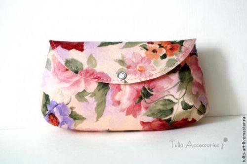 Клатч или сумочка для мелочей своими руками