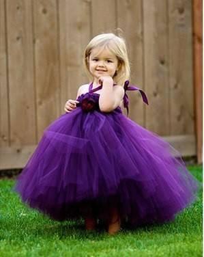 Красивое платье для вашей принцессы. Для тех кто не умеет шить и не только.