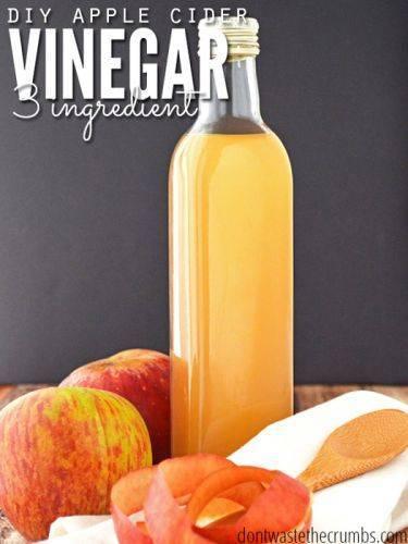 Готовим натуральный яблочный уксус