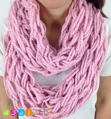 Как без спиц и крючка связать себе модный снуд или шарф!