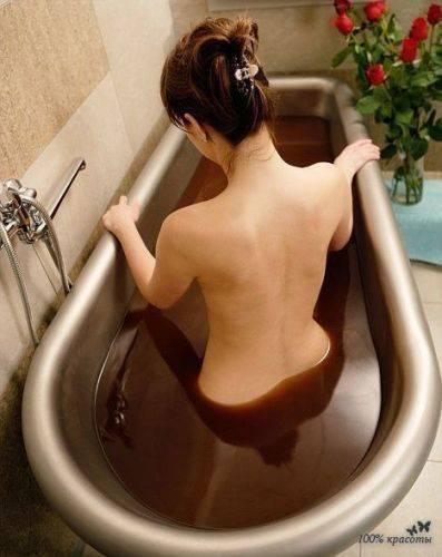 Шоколадная ванна для себя любимой