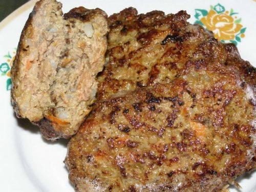 лепешки из печени говяжьей рецепт с фото