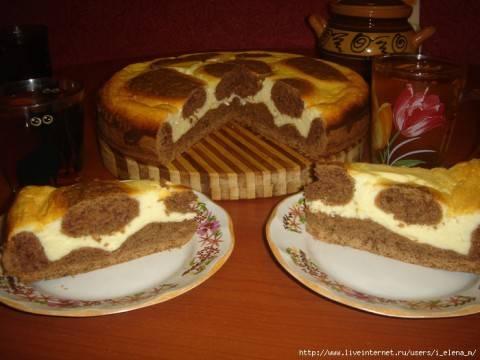 Вкусный и красивый пирог