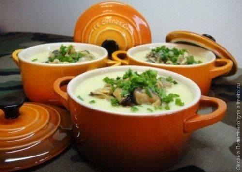Побалуем себя супом-пюре с мидиями и цветной капустой