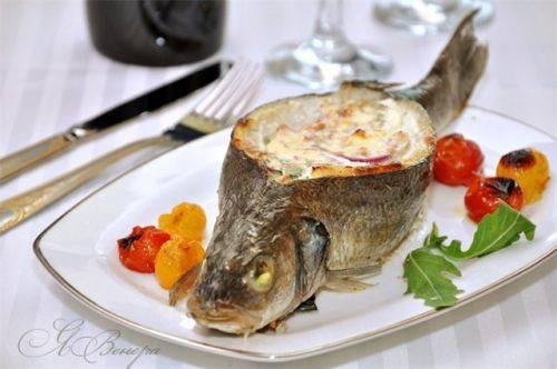 Удивим гостей оригинально приготовленной рыбой