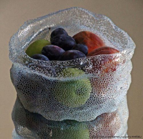Оригинальные вазы для фруктов и конфет практически бесплатно