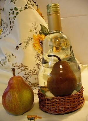 Фрукты в бутылке - воплотить идею легко!!!