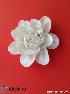 Потрясающе красивые цветы из одноразовых пластиковых ложек