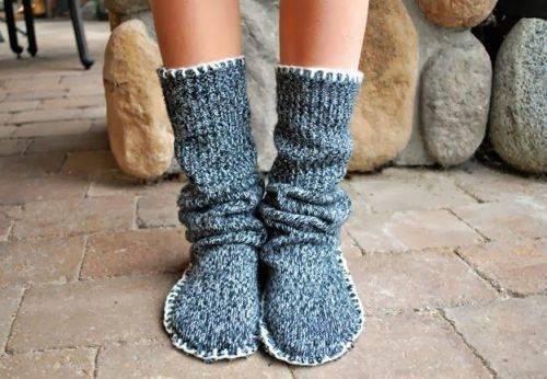 Вы не умеете вязать, а теплые носки хочется. Есть решение проблемы!