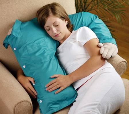 Спим на оригинальных подушках