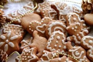 Чудное имбирное печенье к Новому году