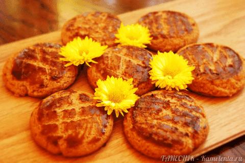 Очень вкусное медовое печенье