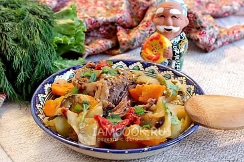 Овощное рагу по-узбекски! Пальчики оближешь!!!