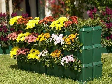 Вертикальные грядки преобразят ваш сад.