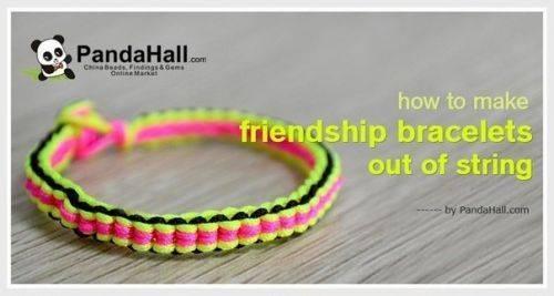 Оригинальные браслеты «дружбы» своими руками сделать очень просто!