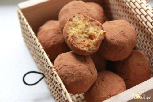 Полезные конфеты домашнего приготовления из нута