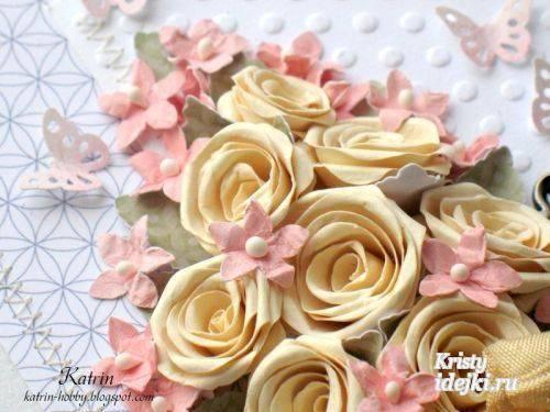 Розы из бумаги своими руками для начинающих