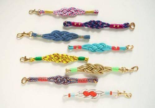 Плетение модных браслетов своими руками 91