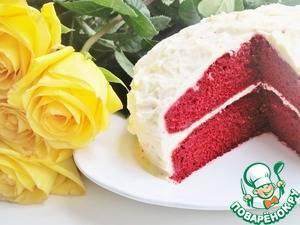 Вкуснейший торт «Красный бархат»: фото и рецепт