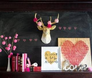 Красивый и легкий декор комнаты своими руками из подручных материалов