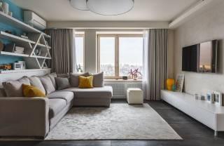Как сделать уютной однокомнатную квартиру. Скрытые системы хранения