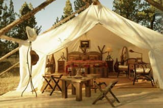 Шикарные палатки для фанатов загородного отдыха
