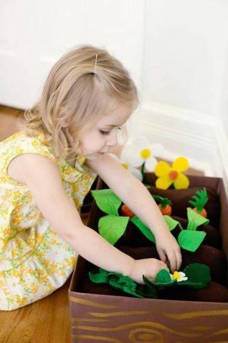 Развивающие игрушки из фетра своими руками