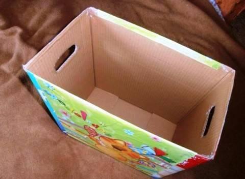 Как сделать ящики для хранения игрушек своими руками
